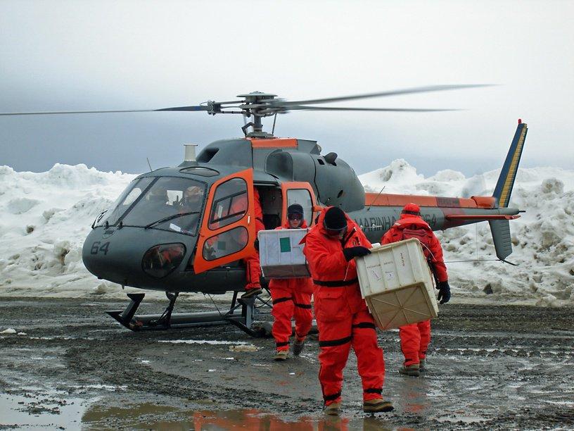H125 in Antarctica