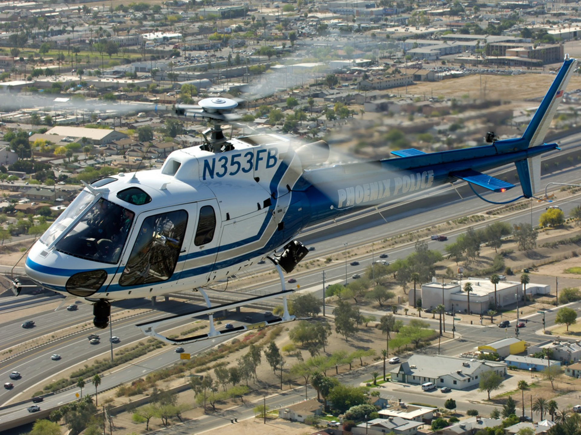 The Phoenix Police Department has signed a new order to upgrade its airborne law enforcement helicopter fleet with five new H125 helicopters.