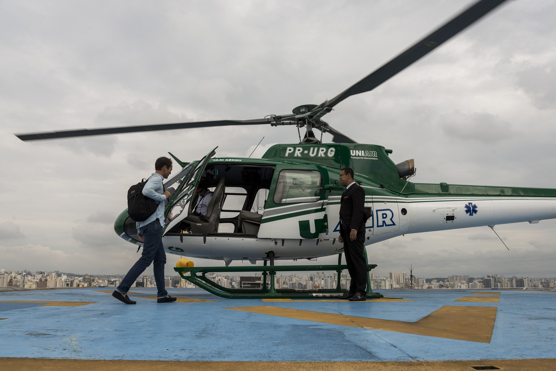 Voom, the world's premier on-demand helicopter booking