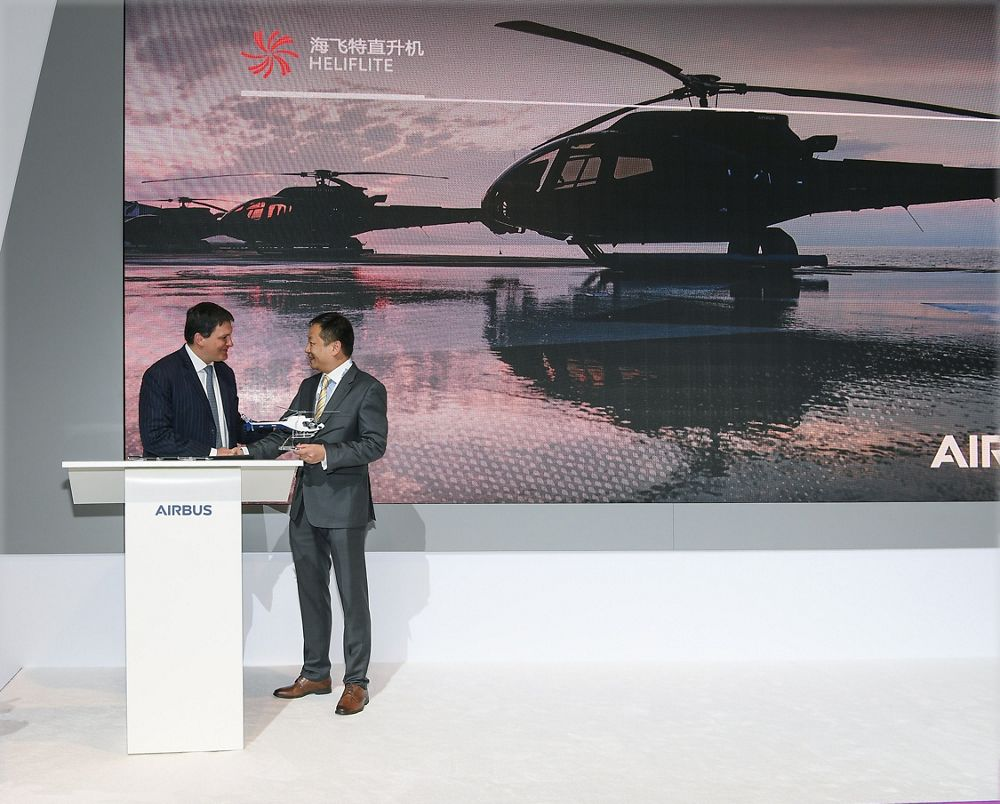 Helicopters heliflite china orders 10 airbus light helicopters and becomes official distributor in china malvernweather Images