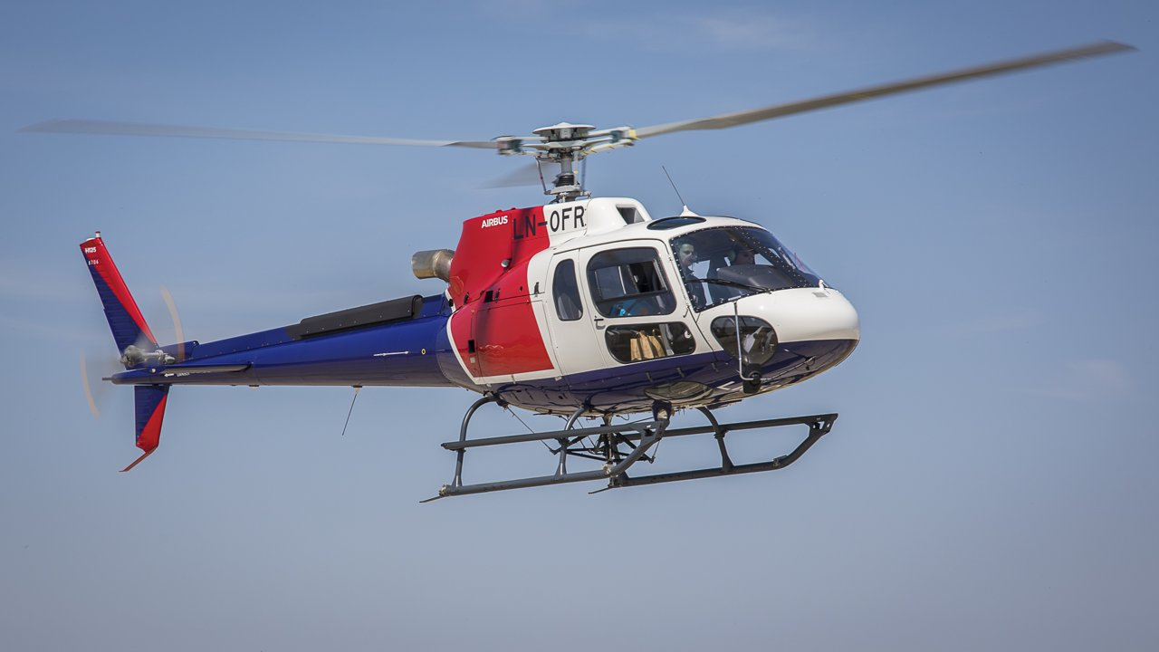 One of Helitrans' Airbus H125 helicopters delivered with digital logcards. The Norwegian company has become the first H125 operator able to manage the maintenance history of its aircraft components digitally.