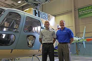 Ohio State Highway Patrol to receive first U.S.-built Airbus Helicopters H125