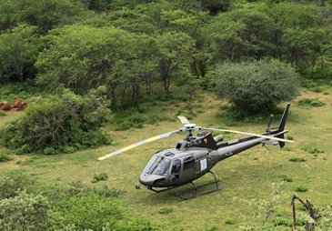 Savannah Helicopters H125 in Ethiopia