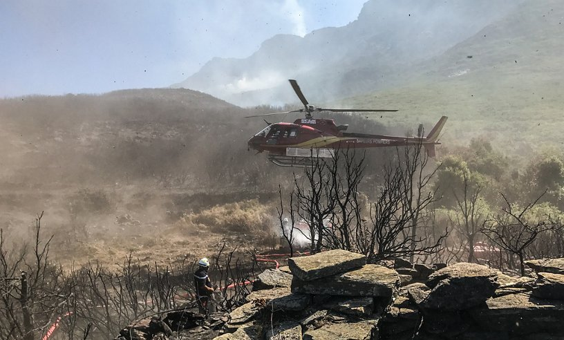 Mont Blanc Helicoptères firefighting