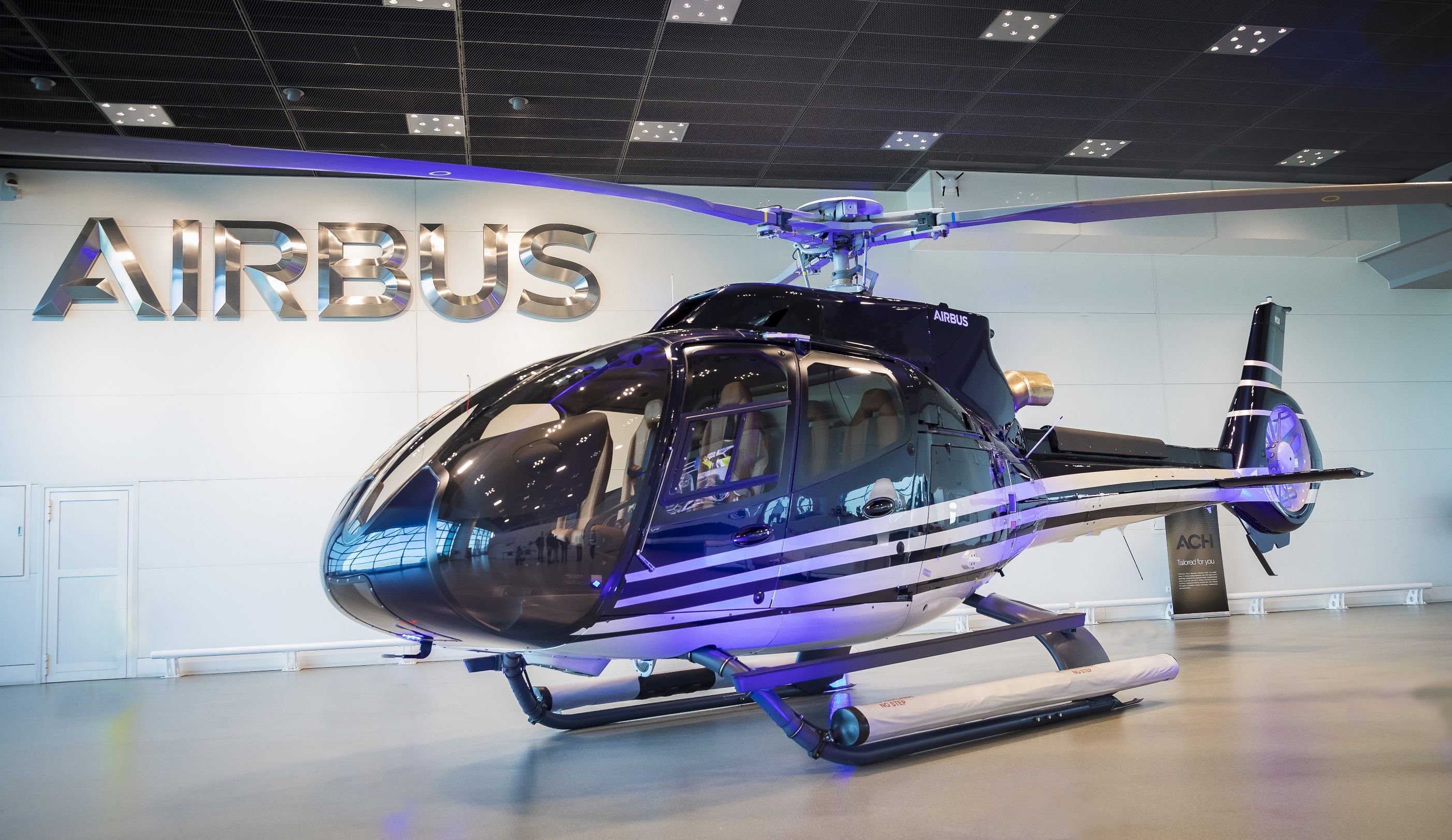 Public presentation of first ACH130 delivered since the launch of Airbus  Corporate Helicopters - Helicopters - Airbus