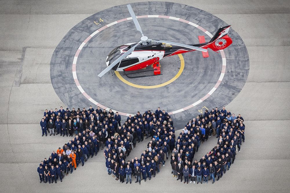 Airbus Helicopters rolls out 700th H130