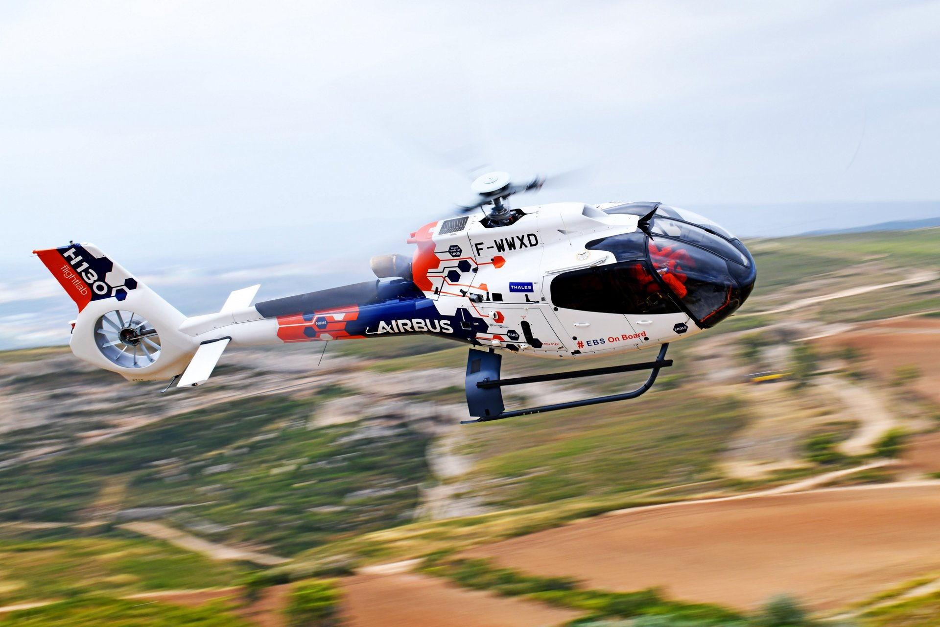 Airbus Helicopters, in partnership with the French Civil Aviation Authority DGAC, has started flight testing an engine back-up system (EBS) onboard its Flightlab.