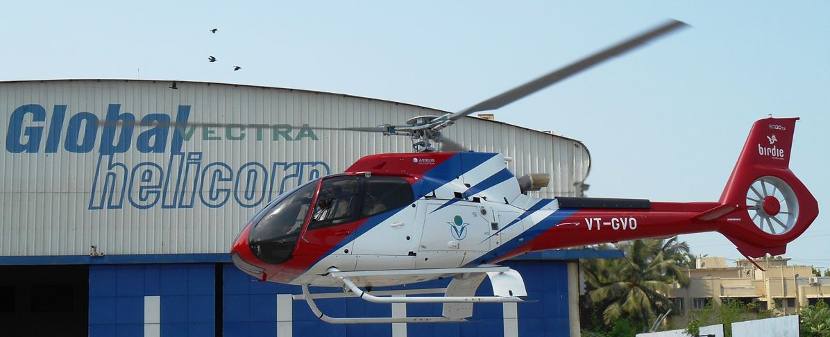 , India's Global Vectra first worldwide customer to take up HCare Smart parts-by-the-hour contract for its H130