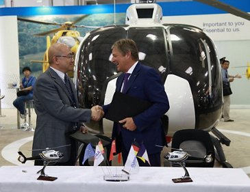 MIT Group's HEMS999 provides China's first highway accident helicopter rescue services with purchase of seven H130s