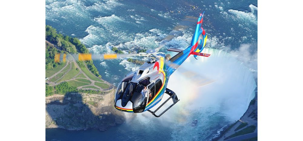 Four new H130s begin sightseeing tours over Niagara Falls