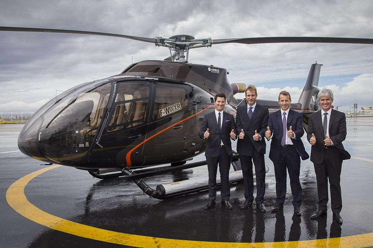 MONACAIR - H130 T2 CONTRACT SIGNATURE, Monacair acquires six H130s to operate scheduled flights between Monaco and Nice Airport