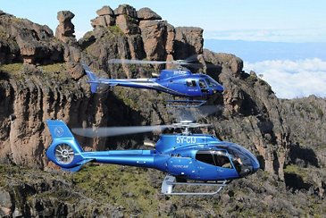 Tropic Air Kenya's H130 and H125