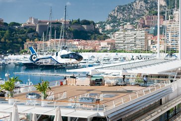 ACH135 at the Monaco Yacht Show