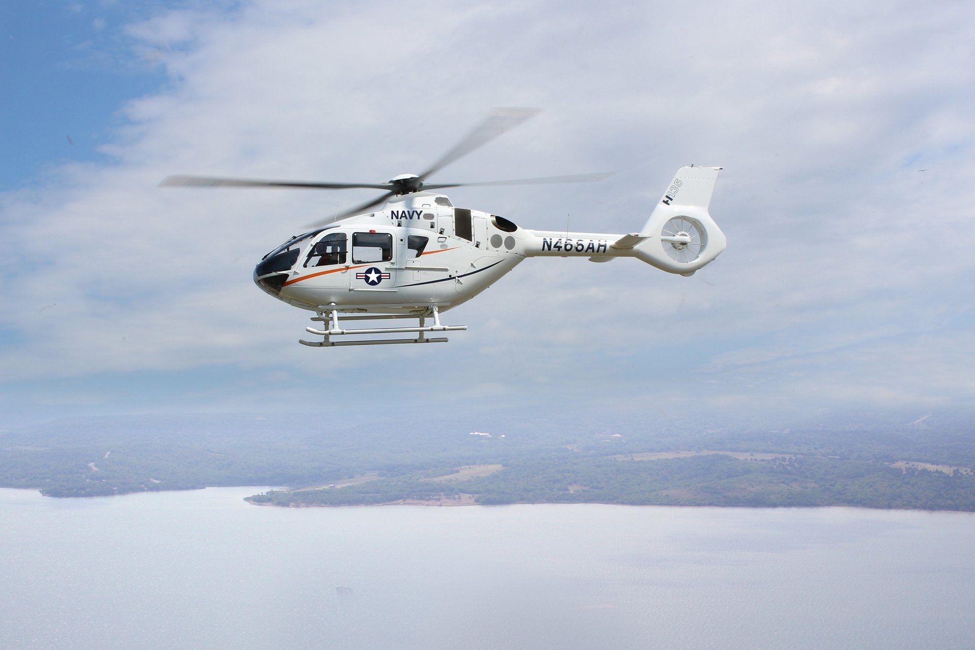"The H135 is a market leading twin-engine, multi-mission helicopter performing the primary training mission for some of the finest militaries in the world,"" said Chris Emerson, President of Airbus Helicopters Inc. and Head of the North America Region."