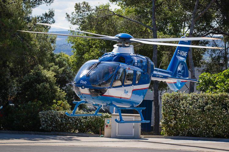 Opération RTE / Airbus Helicopters à Salon de Provence.