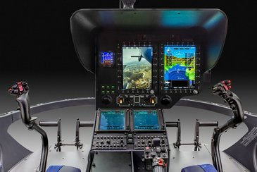 Airbus has recently certified a new single pilot IFR Helionix cockpit for its H135 helicopters.