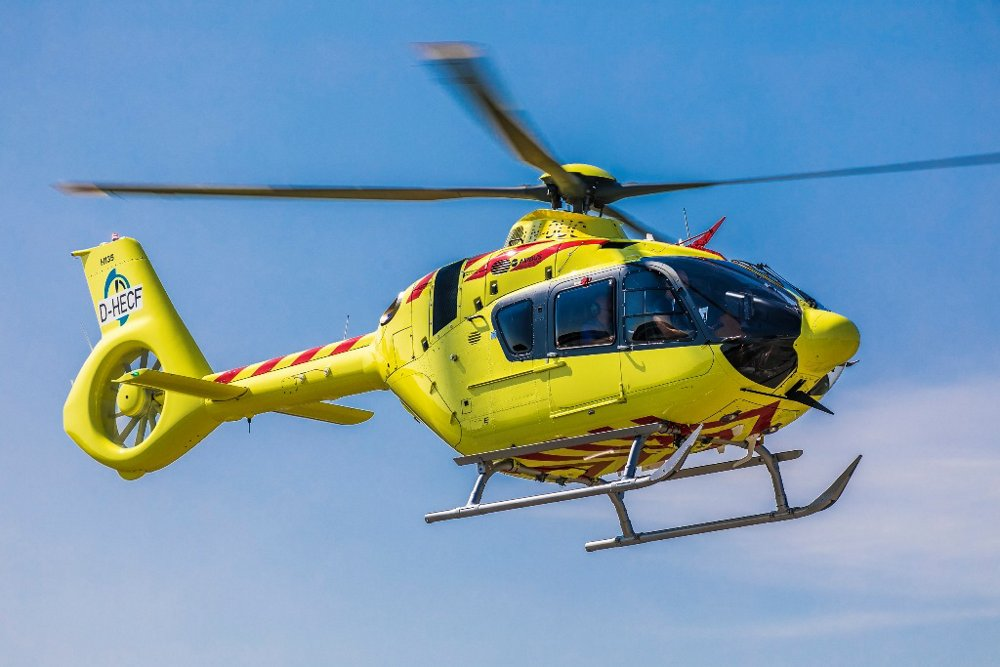 H135 equipped with Helionix.