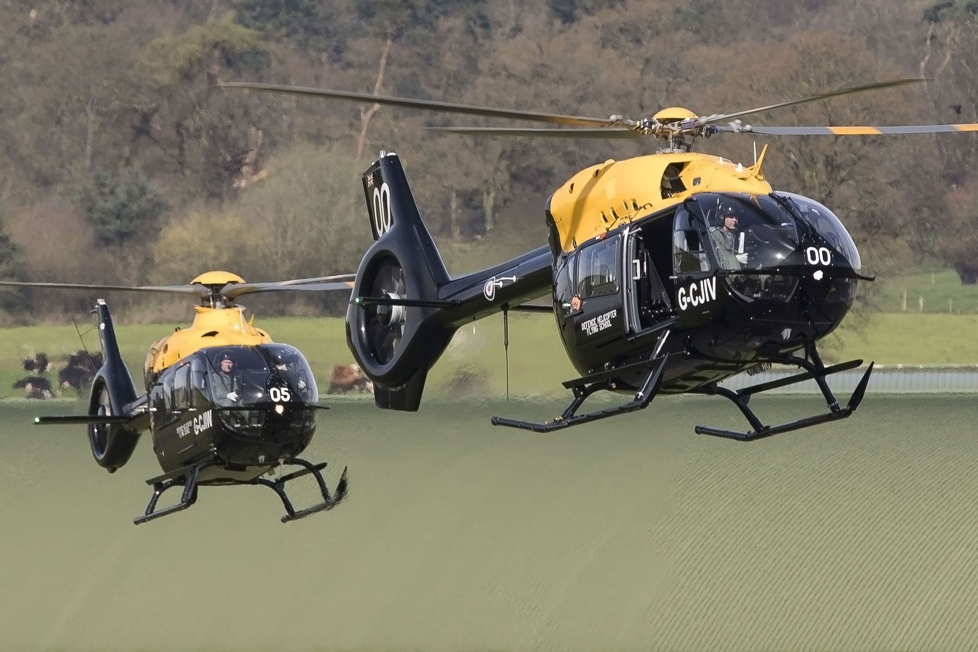 H135s for the UK MFTS