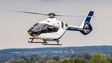 H135 in flight