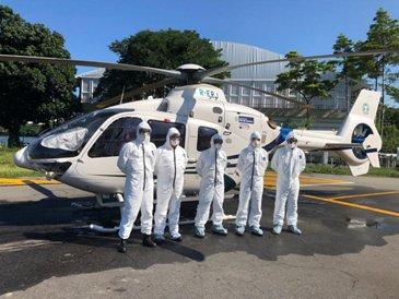 Coordenação De Operações Aéreas with H135