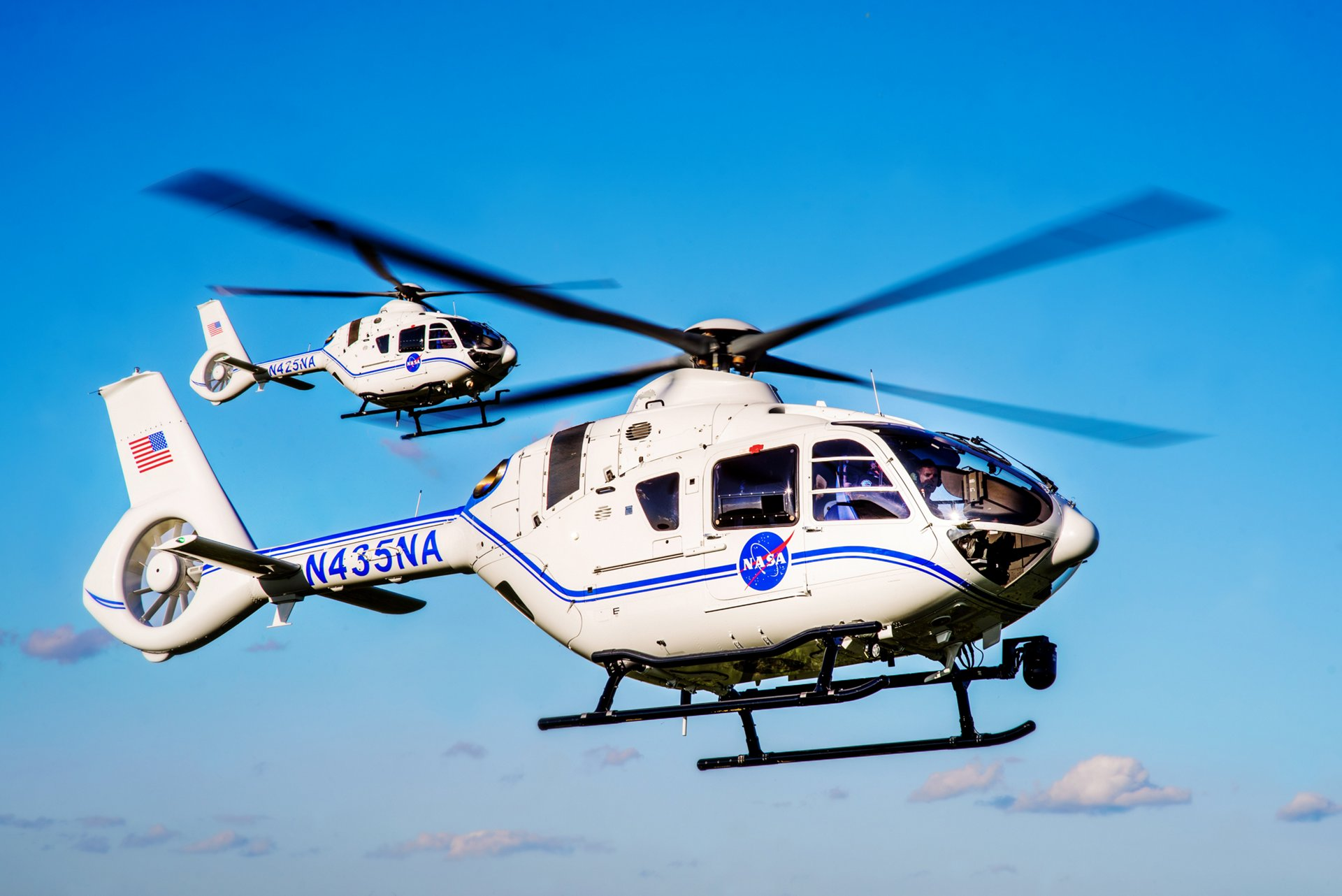 Airbus continues to expand its portfolio of products supporting the future of space exploration with the delivery of two new H135 helicopters to the National Aeronautics and Space Administration (NASA) from the Airbus Helicopters, Inc. production and completion facility in Columbus, Mississippi.