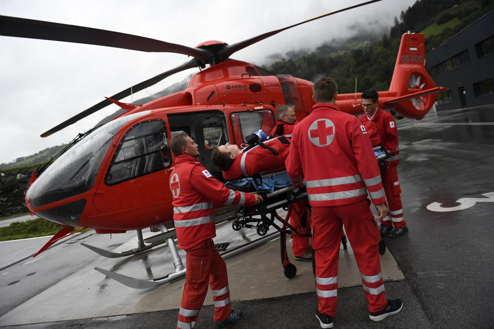 Heli-Austria performs EMS missions with the H135