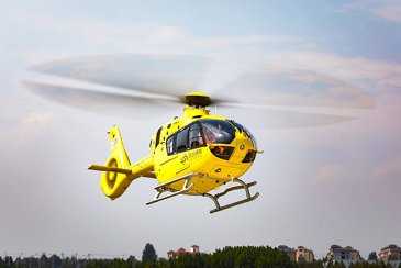Airbus Helicopters delivers the first of 100 H135s for China in Qingdao