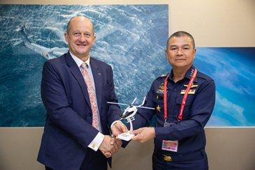 H135泰国皇家空军加入军事训练运营商空中客车乐动体育app靠谱吗