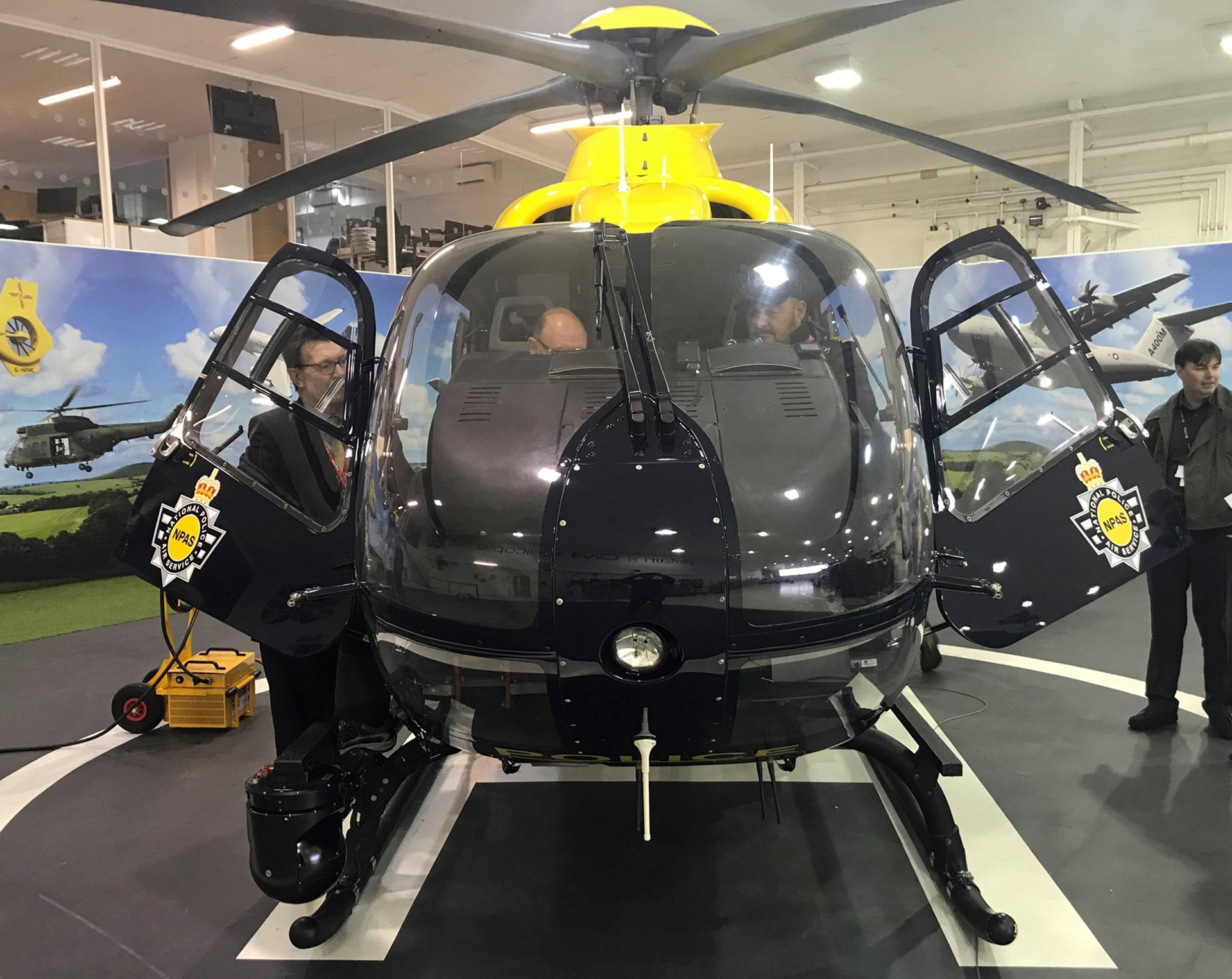 Airbus Helicopters Delivers Upgraded Night Vision to NPAS' UK Police