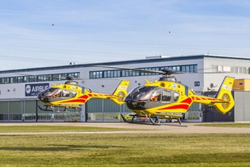 Airbus Helicopters delivers four additional H135 helicopters to LPR in Poland