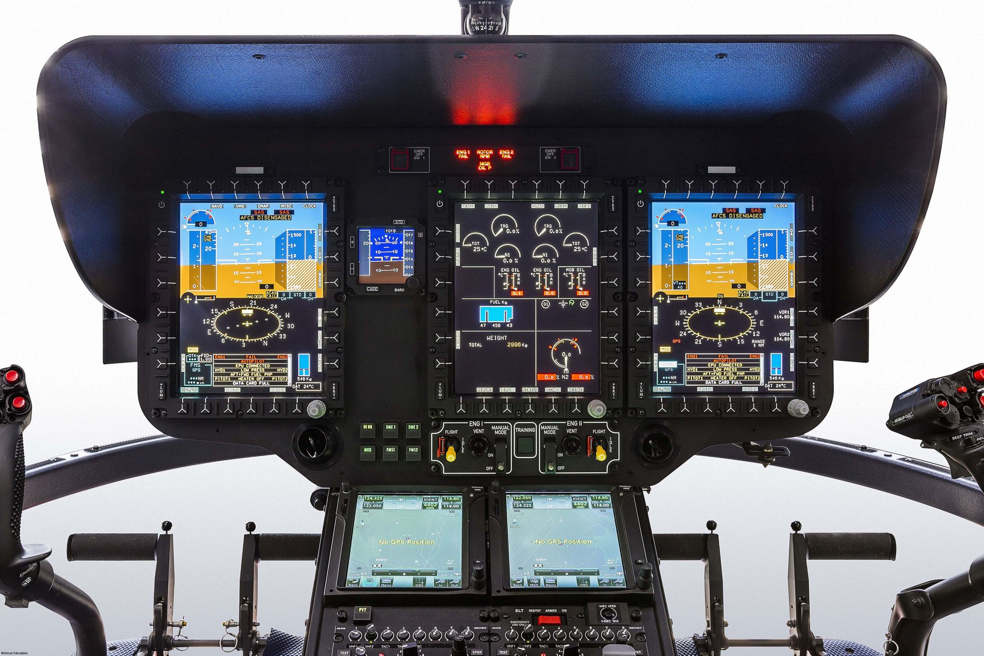 Airbus Helicopters' light-twin helicopter H135 has received the type certificate by the Federal Aviation Administration for its new Helionix cockpit.