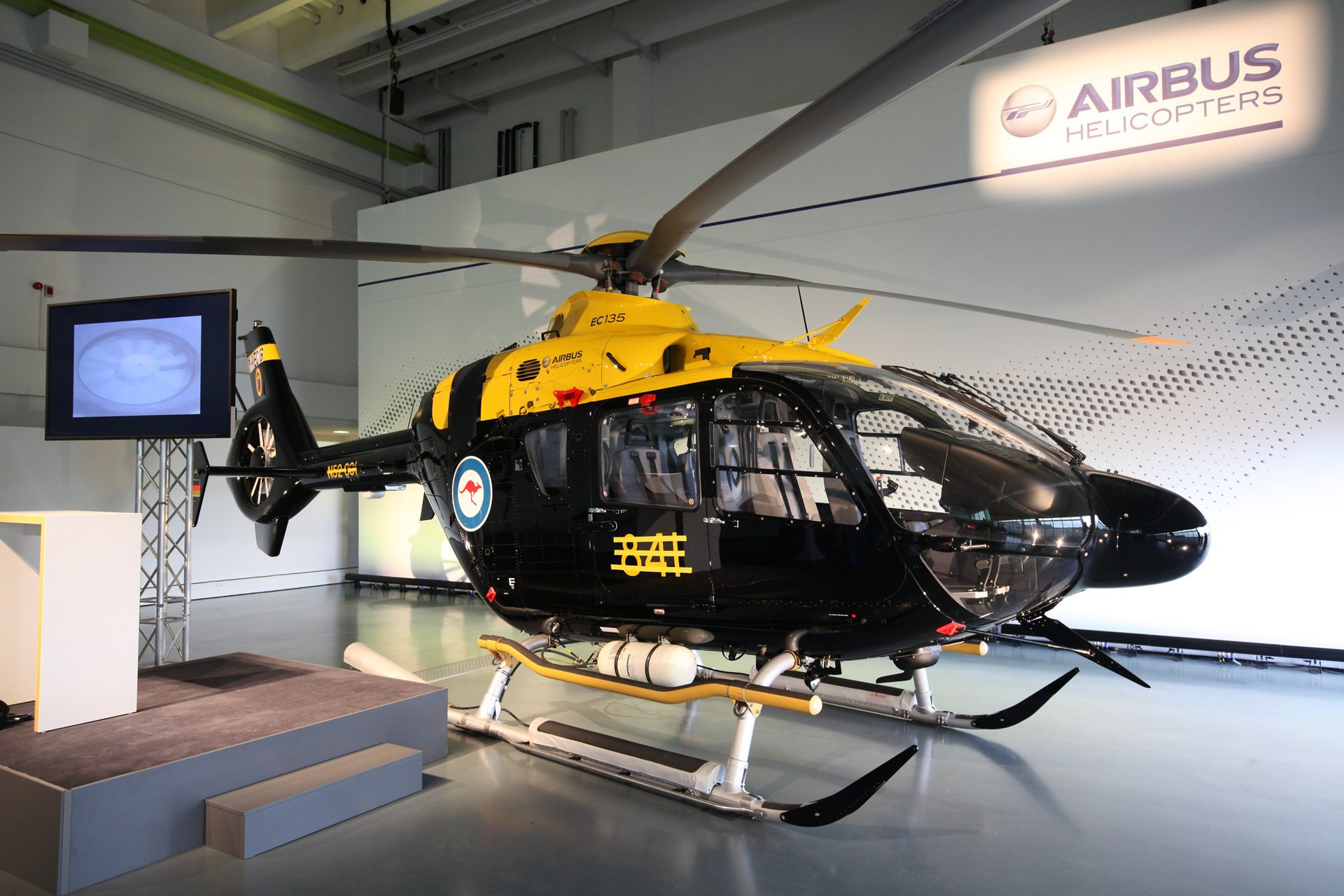 """Airbus Helicopters achieves Factory Acceptance for first """"HATS"""" military training helicopter for Australia"""
