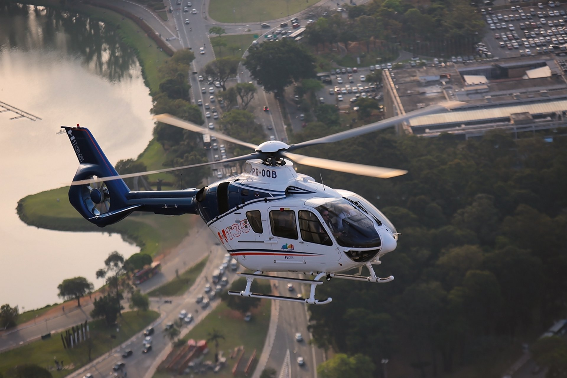LABACE 2016 marks start of demo tour for first H135 upgraded in Brazil