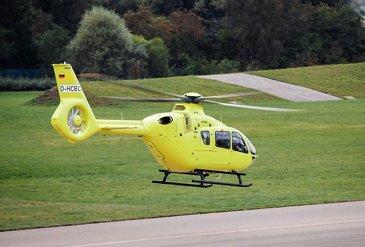 H135 for HEMS operator Mont Blanc