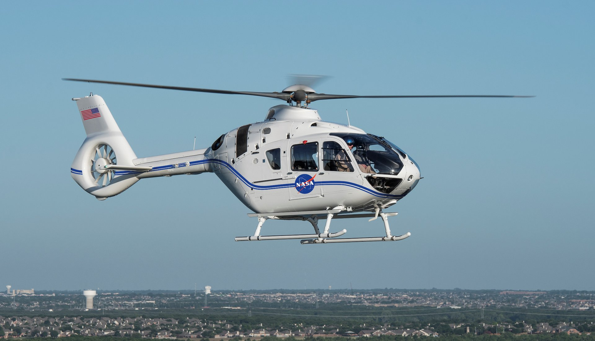 The U.S. agency will use the aircraft for security during rocket launches, emergency medical services and qualified personnel transport.
