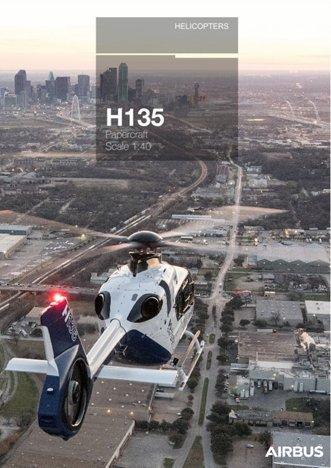 H135 papercraft