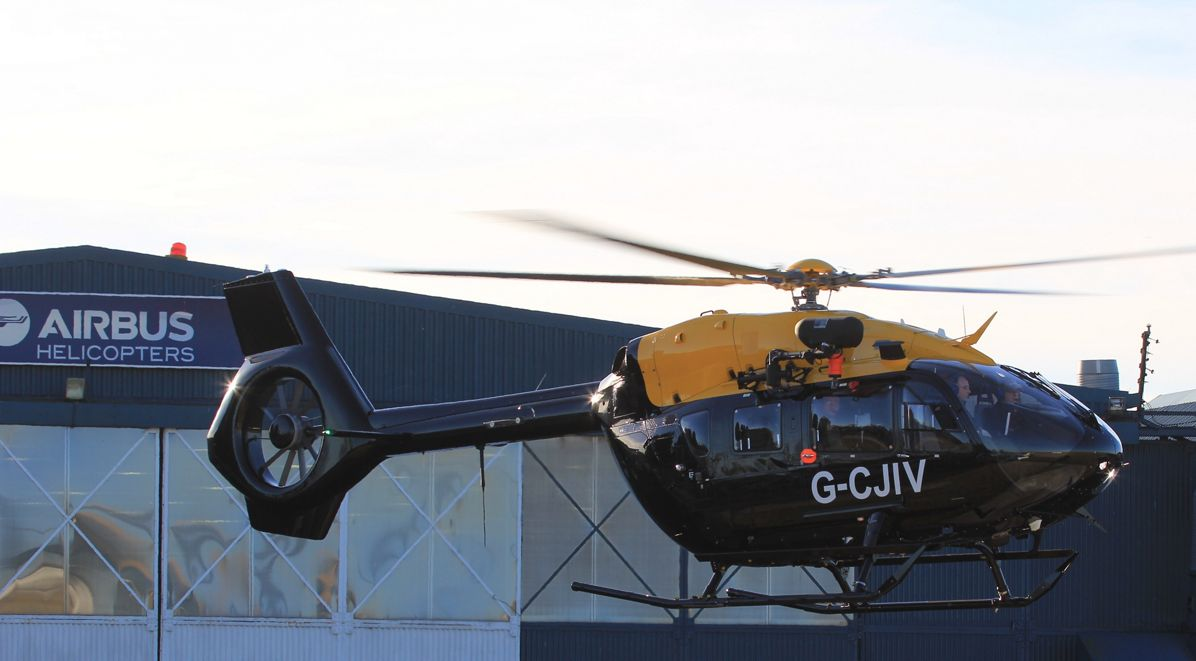 First UKMFTS H135 Juno and H145 Jupiter Arrive in Britain