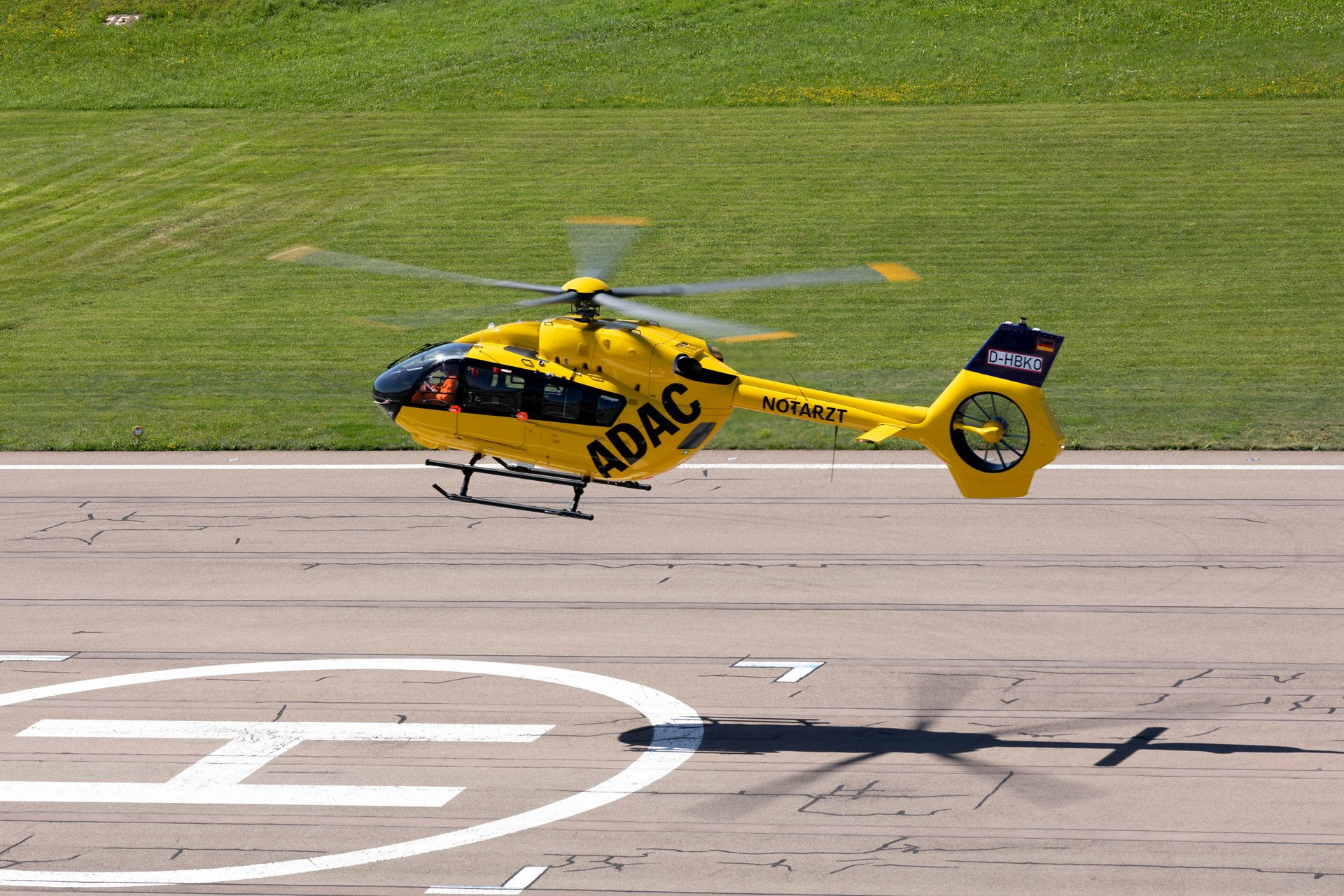 ADAC Luftrettung, one of Europe's biggest Helicopter Emergency Medical Services (HEMS) operators, has taken delivery of its first two five-bladed H145s.