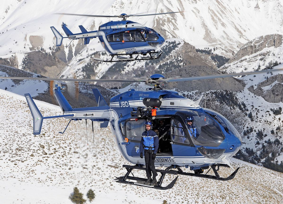 Airbus Helicopters to provide global service solution for French Gendarmerie Nationale and Sécurité Civile EC145 fleet