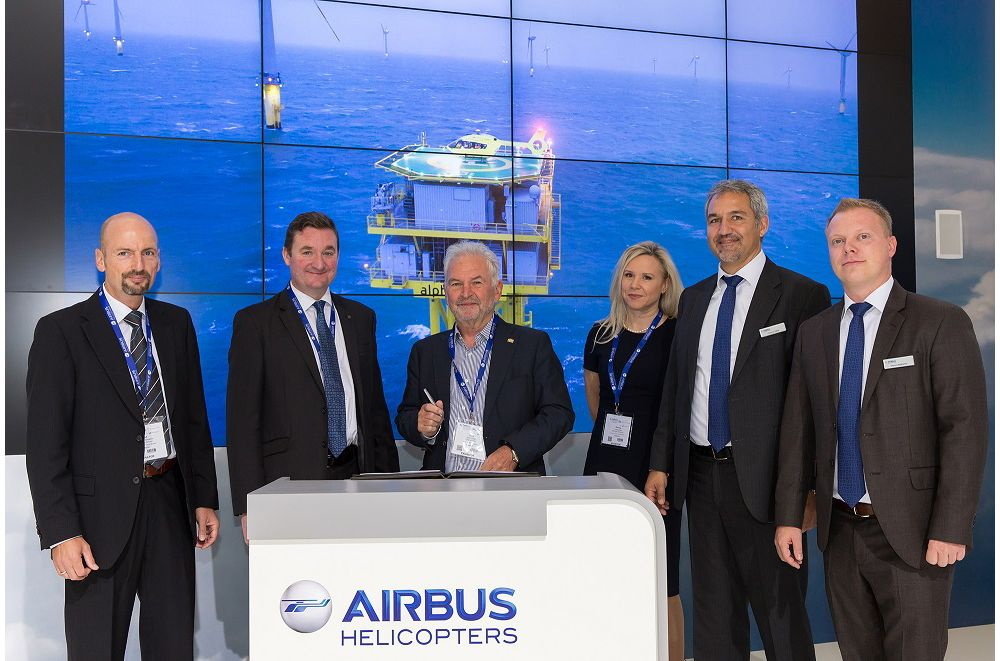Helicopter Travel Munich signs for one H145 for offshore wind operations