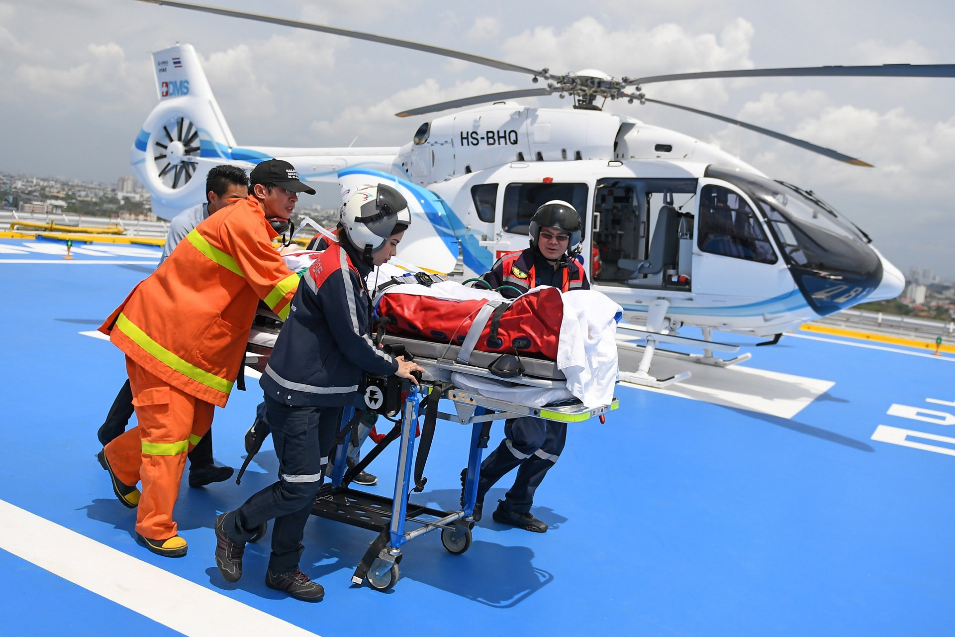 BHS in Thailand has been operating medical flights since 2007 with an H145.