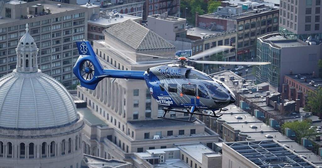 Boston MedFlight transports some 4,000 critical care patients a year, or approximately 1,842 missions yearly.