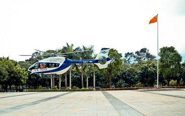 The Guangzhou Public Security Bureau expands its H145 fleet