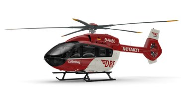 DRF Luftrettung's five-bladed H145