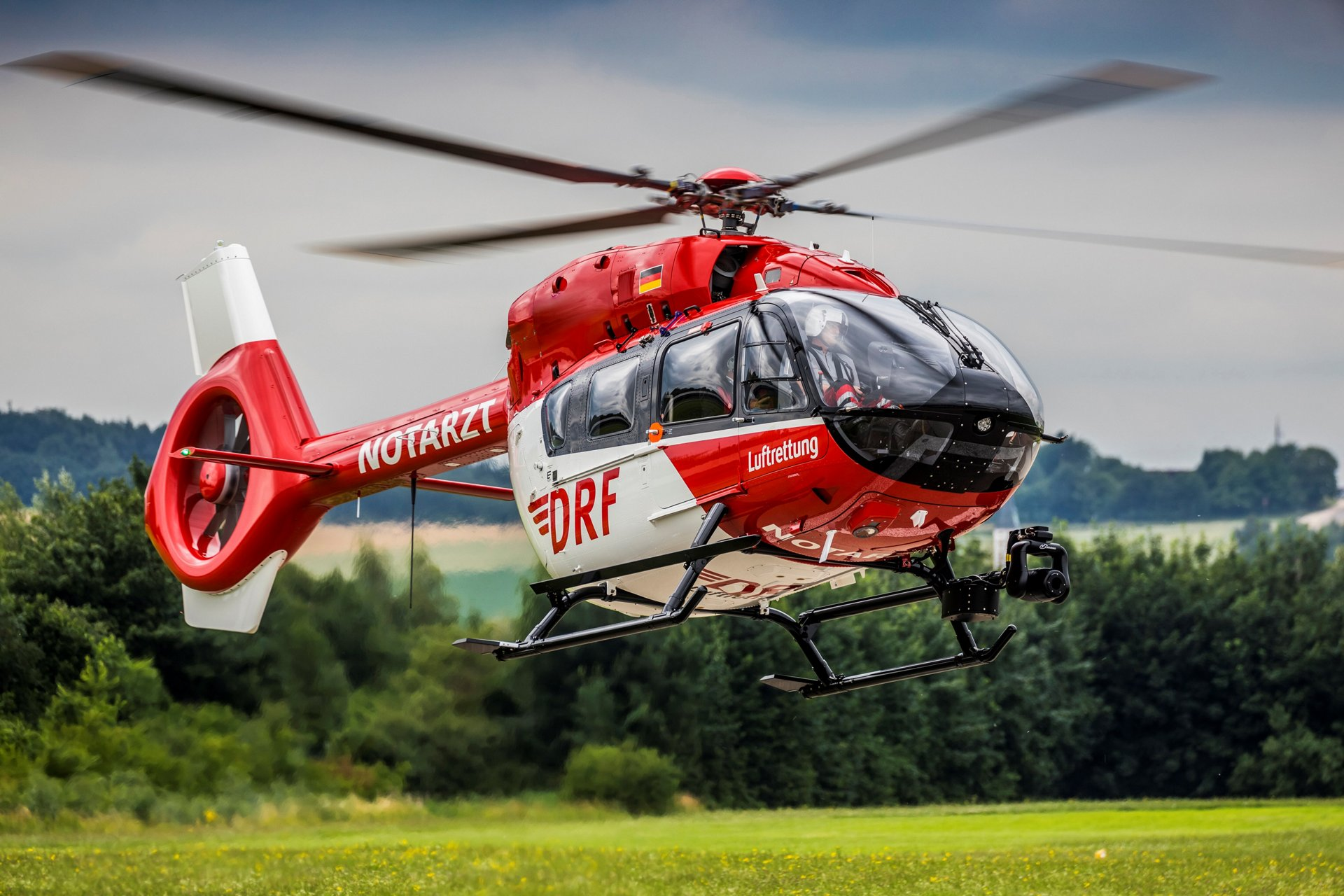 At Helitech, Airbus Helicopters and DRF Luftrettung have
