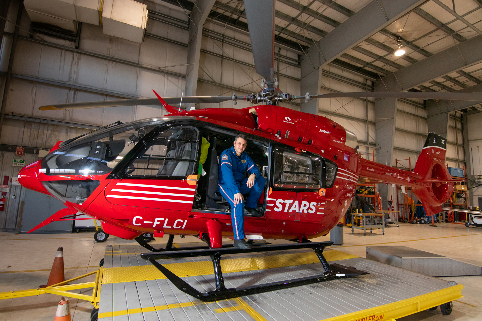 Greg Barton, STARS flight paramedic has been a paramedic for 27 years, 18 of which have been with STARS.