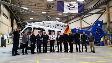 H145 RCMP Delivery
