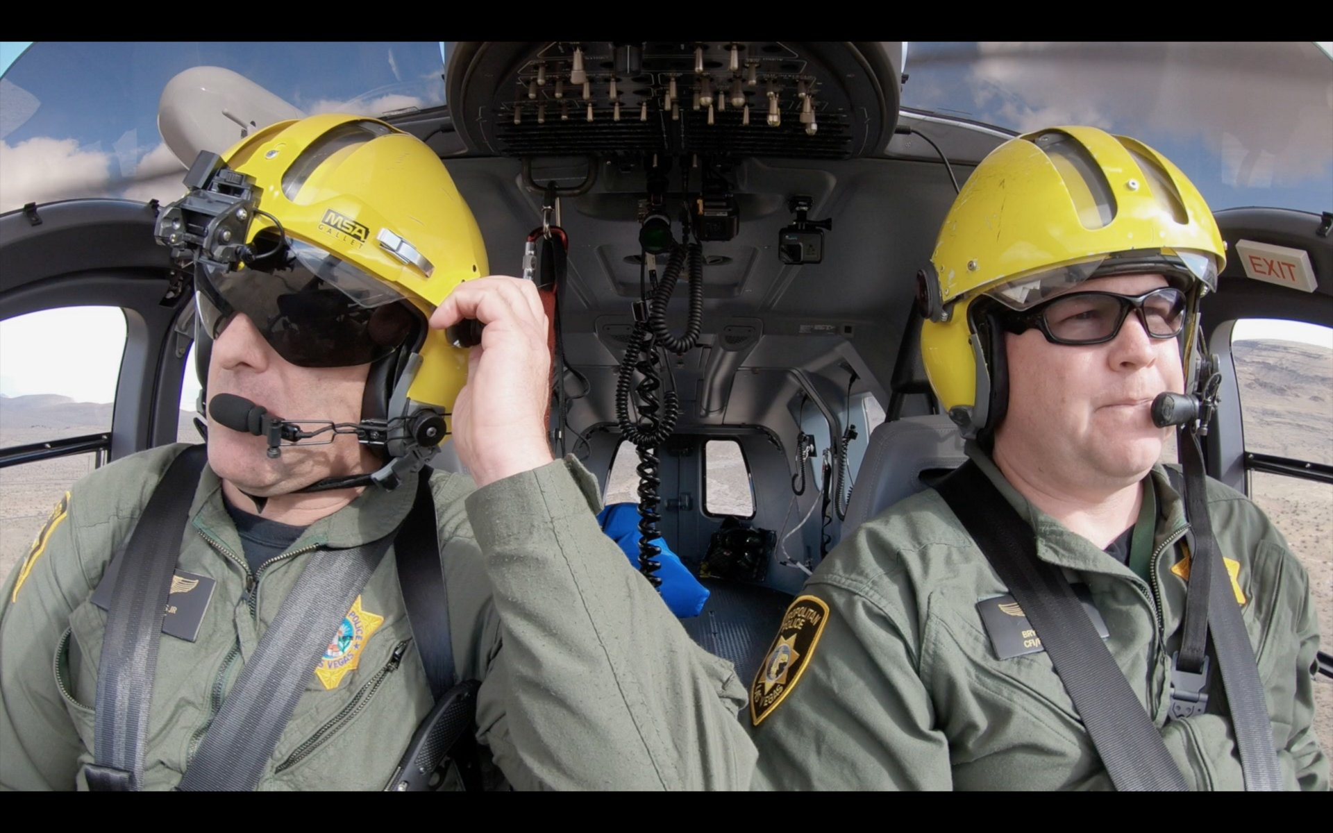 Aerial law enforcement: in service of their communities