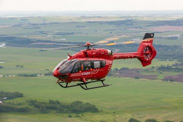 STARS' H145 in flight