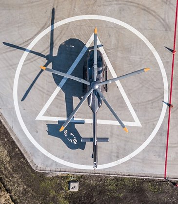 The high altitude flight campaign of the new H145 starts in Chile
